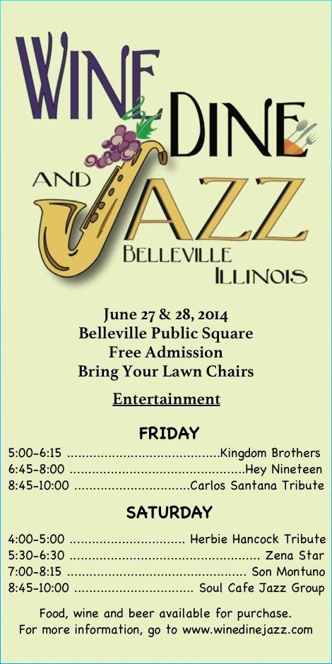 Wine Dine and Jazz 2014