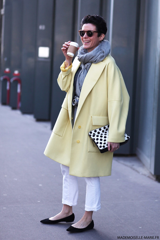 Garance Dore at Paris fashion week