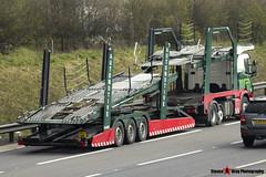 Scania P440 6x2 Car Transporter - PK63 HME - Charlotte Victoria - Eddie Stobart Automotive - M1 J10 Luton - Steven Gray - IMG_7146