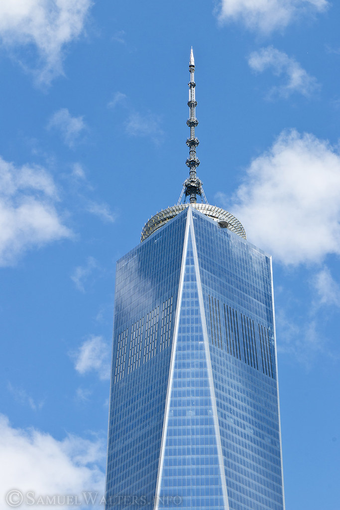 Freedom Tower In The Clouds