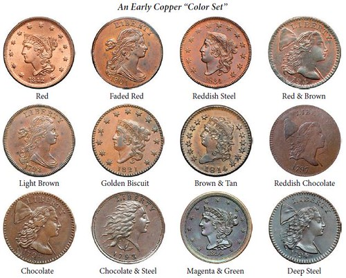 Early Copper color set