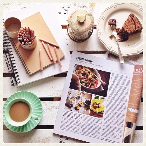 """""""Food photography should tell a story & make people taste the delicious food by merely looking at the photo. So, it is also about the table setting, props, food styling, light and mood. It is about the atmosphere that depicts the mood & message of the pho"""