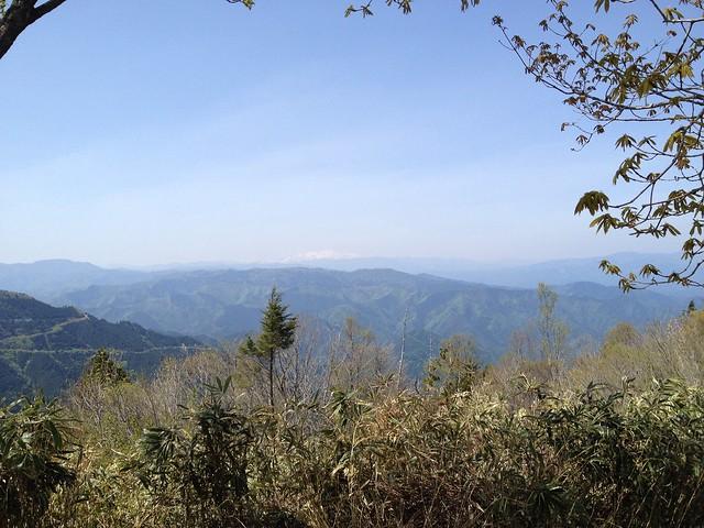 瓢ヶ岳 白山方面の眺望