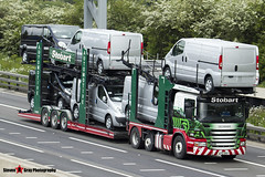 Scania P420 6x2 Car Transporter - AY12 AKU - A9300 - Iona Louise - Eddie Stobart Automotive - M1 J10 Luton - Steven Gray - IMG_9544