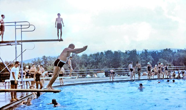 Thacher Park Swimming Pool 1960s Albany Ny Courtesy Diane Flickr Photo Sharing