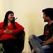 Pía (Idea.me) y Felipe (TuTanda)