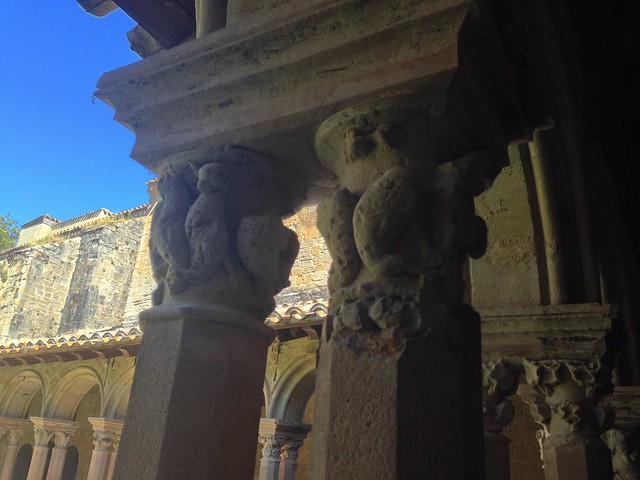 Capitals In the Saint-Papoul Cloister