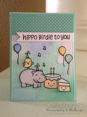 Hippo Birdie to you!
