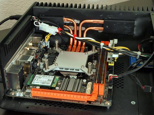 fanless i7 HTPC build