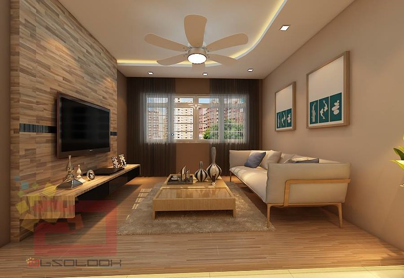Hdb bto 4 room natural wood design blk 528b costa ris for Living room ideas hdb