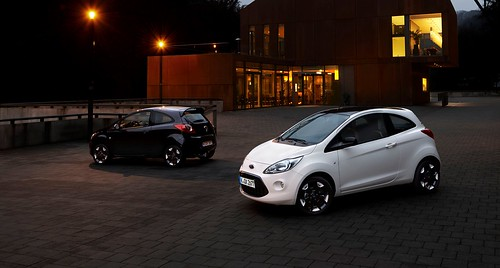 Ford Ka Black y White