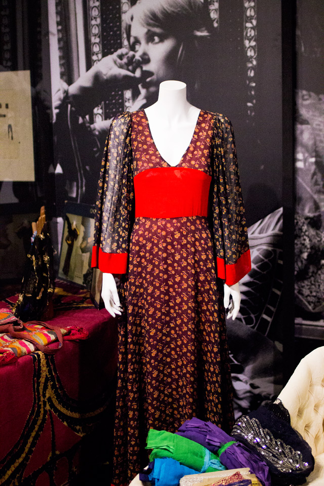 THEA PORTER 70s Bohemian Chic exhibition Fashion Textile Museum London