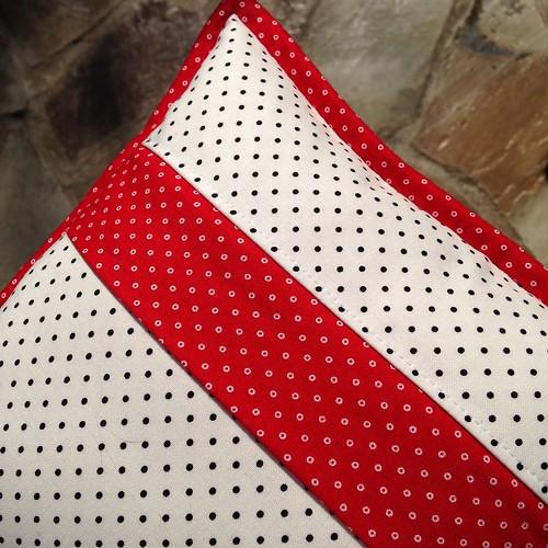 Pillow back - covered zipper