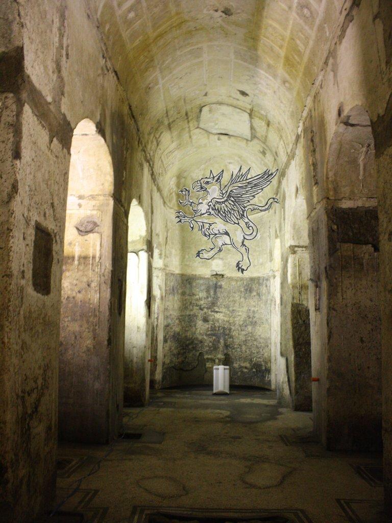 I due sarchiaponi la basilica sotterranea di porta maggiore for Porta maggiore