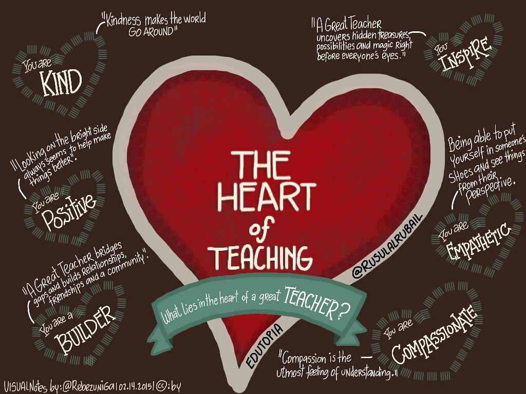The Heart Of Teaching What It Means To Be A Great Teacher Flickr