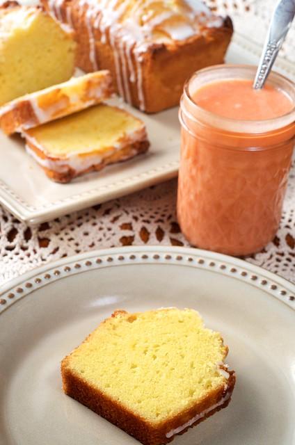 Orange Poundcakes with Blood Orange Curd | Flickr - Photo Sharing!