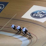 2014-07 Commonwealth Games Team Sprint Qualifying race -2