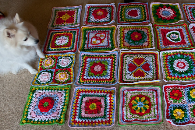 """Be of Good Cheer"" Afghan"