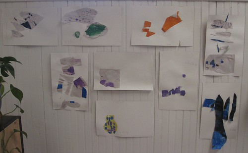 Matisse/Carle art collages