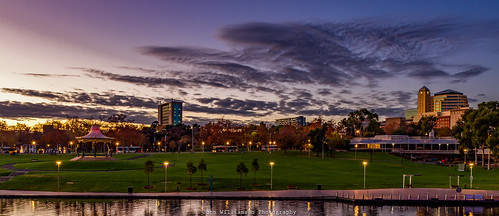 adelaide southaustralia sunrise torrensriver australia