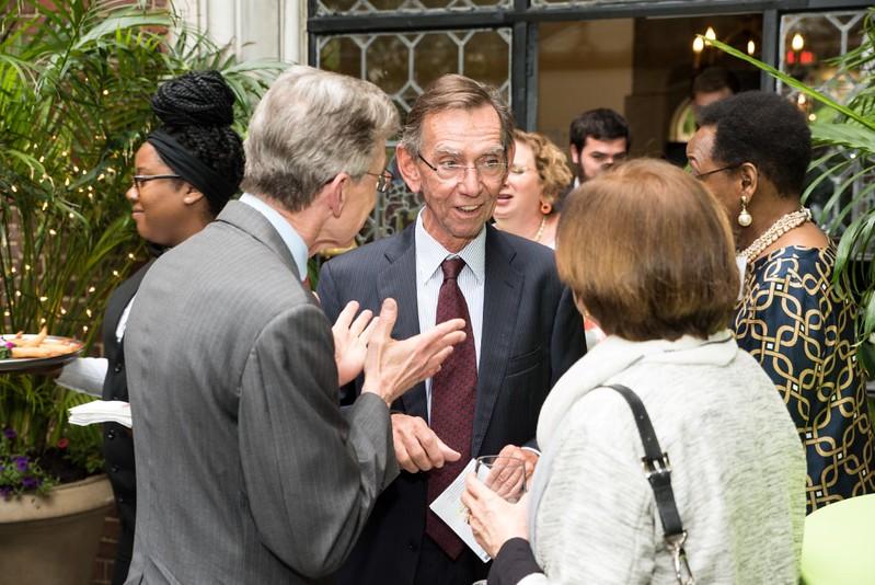 Ambassador Verbeke of Belgium Eric Melby Founding Principal and Partner at the Scowcroft Group and ISH Board Member and Pamela Melby - GP 2016 (3)