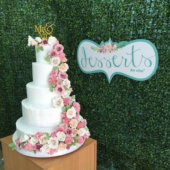 Beautiful Wedding Cake by Charlene Cheong