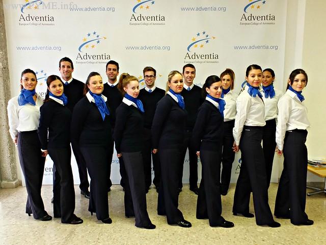 Última convocatoria de TCP formada por la Escuela Aeronáutica Adventia.