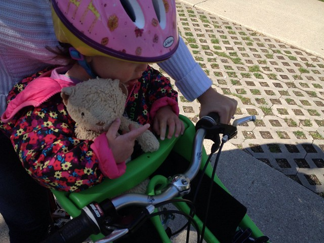 First farmers market bike ride