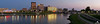 Dayton Panorama at Dusk by Jim Crotty