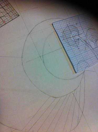 Fibonacci Floral Step 2