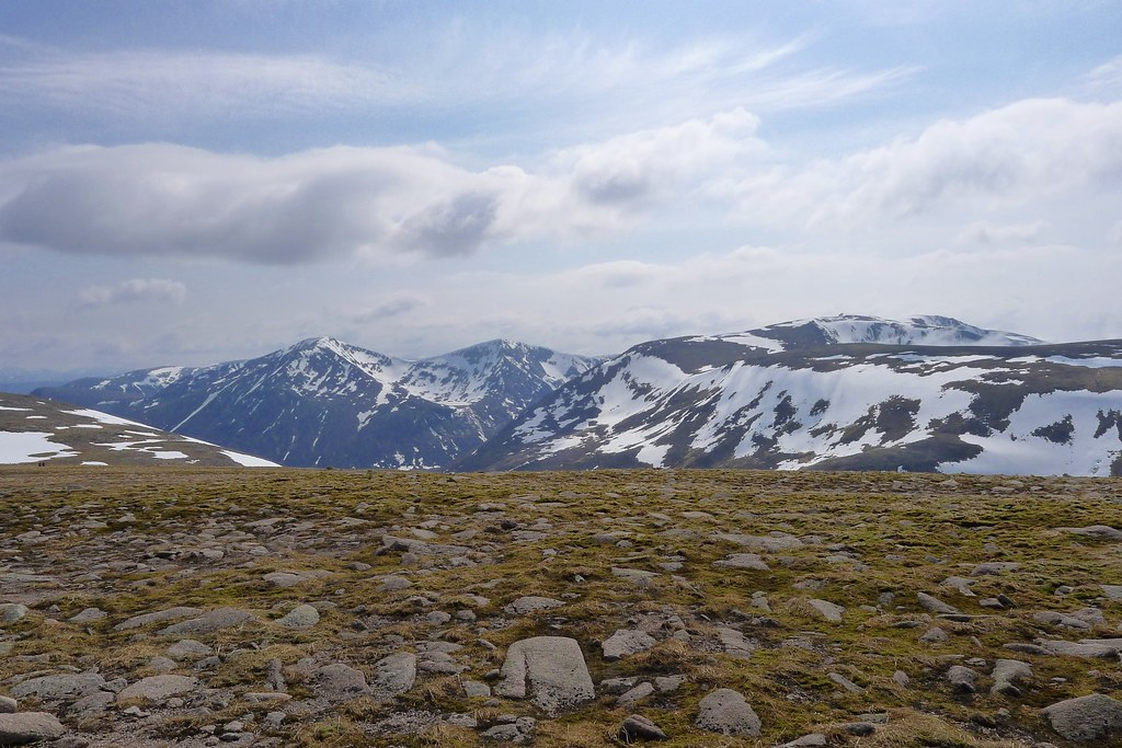 Cairn Toul from the Plateau