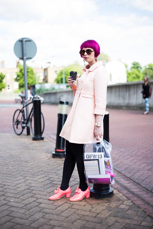Street Style - Esmeralda, Graduate Fashion Week
