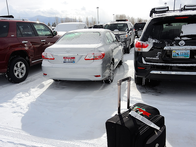 DSCN0472 Rental Cars at Jackson Hole Airport