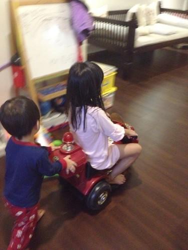 小捷手推電動motorcycle