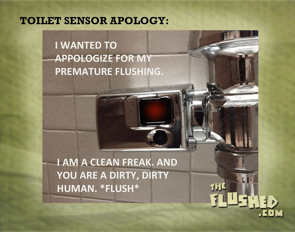 Toilet Sensor Apology