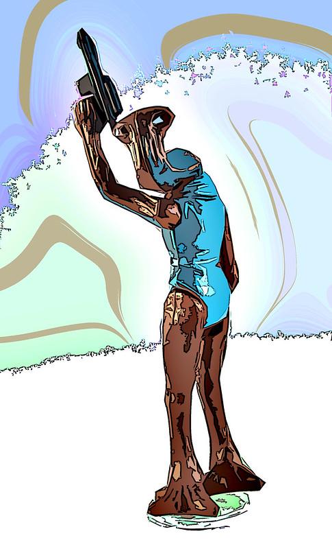 psybertech's Star Wars Figures Artwork Limelight 9095122069_7ccc5b3930_c