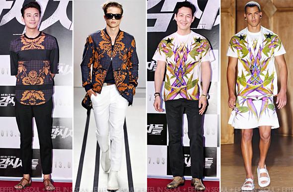 c44ca941c 'Cold Eyes' Premiere: Ju Ji Hoon in 3.1 Phillip Lim & Lee Jung Jae in  Givenchy