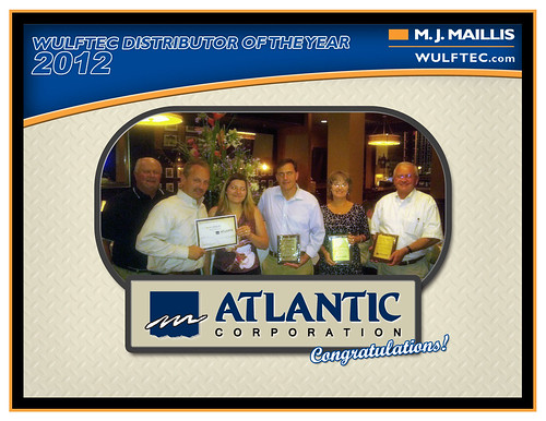 Atlantic Corporation - Distributor of the year