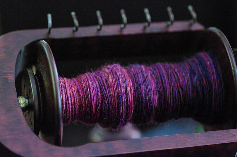 Grafton/Dyak fiber on bobbin