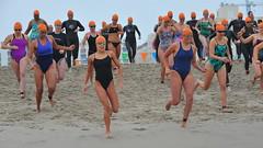 Women Running to the Water