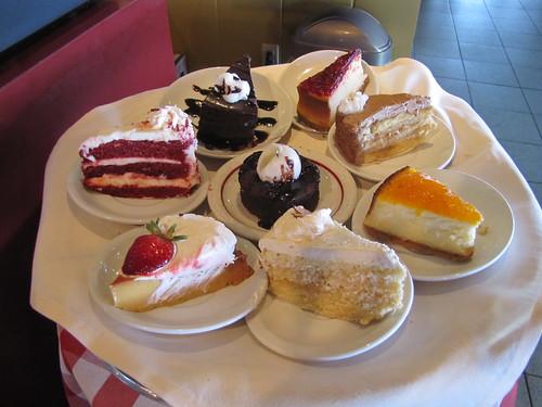 Desserts at Rappa's