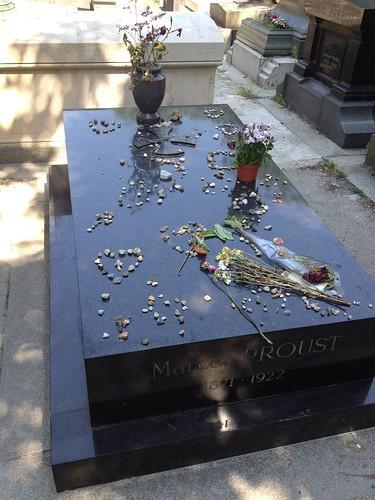 Tomb of Marcel Proust, Père Lachaise Cemetery, Paris