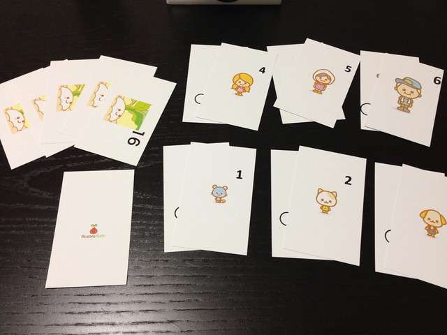 "Card game ""Aozora farm"""