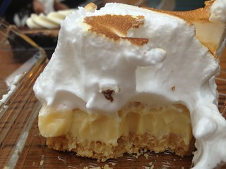 Lemon Meringue Pie at Freddie's Deli