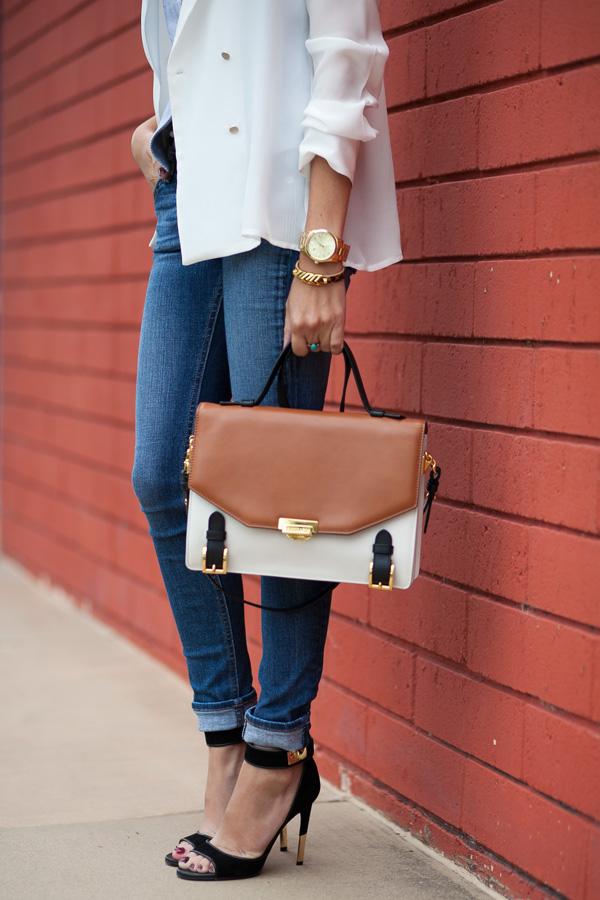 Zara silk blouse, trench coat, fashion blogger, Los Angeles