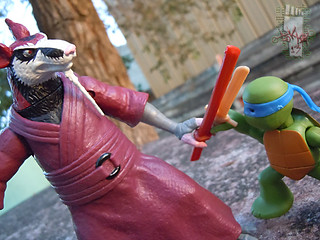 Nickelodeon  TEENAGE MUTANT NINJA TURTLES :: NINJAS in TRAINING, LEONARDO & DONATELLO xii // .. training with Splinter (( 2013 ))
