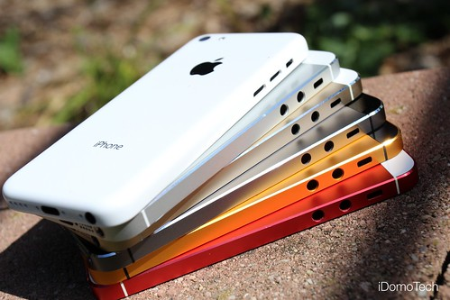 iPhone 5, 5S & 5C Stacked