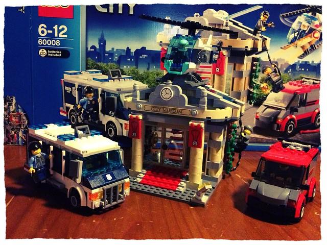 Lego Museum Break-in #60008