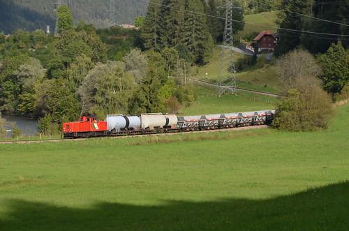 18.09.2013 (XV); Oostenrijk, dag 19, cargo op de Murtalbahn