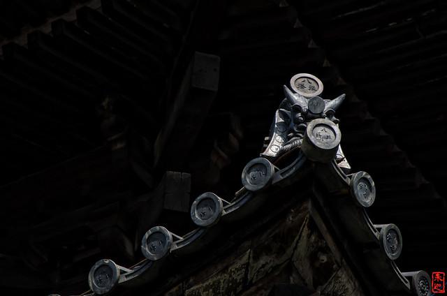 「鬼瓦」 法観寺 - 京都